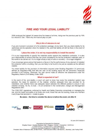 Fire an Your Legal Liability